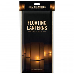 White Floating Water Lanters