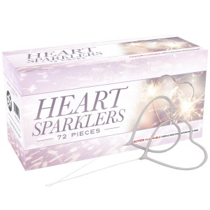 SFX Heart Sparklers