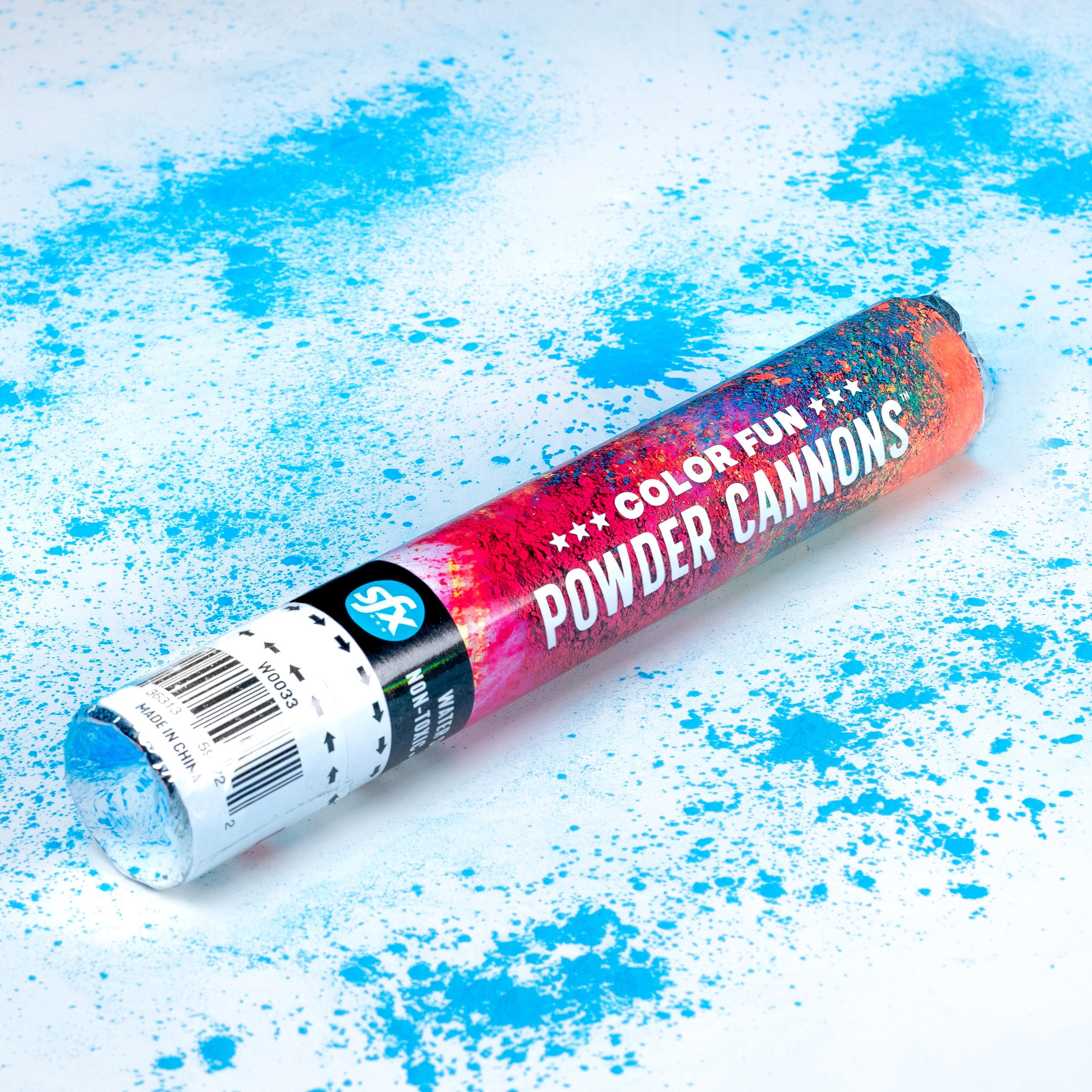 Blue Powder Cannon
